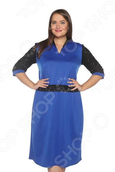 Платье Pretty Woman «Знатная дама». Цвет: васильковый