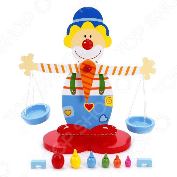 Игрушка развивающая Mapacha «Весы: Клоун» mapacha обучающая игра весы клоун