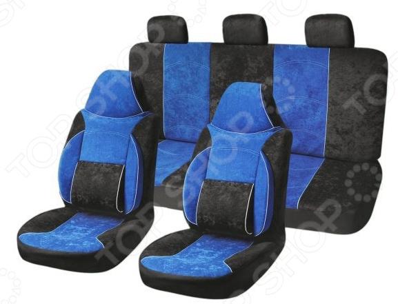 Комплект чехлов на сиденья автомобиля SKYWAY Protect-1