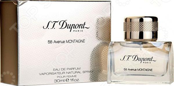 Парфюмированная вода для женщин S.T. Dupont 58 Avenue Montaingne, 30 мл парфюмированная вода для женщин escada especially 30 мл
