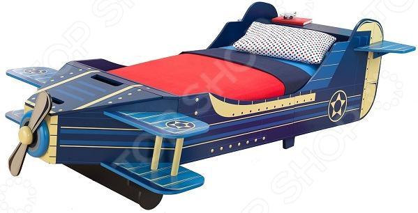 Кроватка детская KidKraft «Самолет» цена