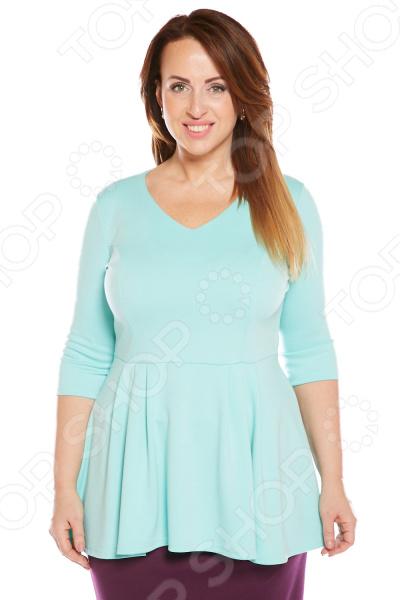 Блуза Матекс «Николь». Цвет: ментоловый блуза матекс радость солнцу цвет красный