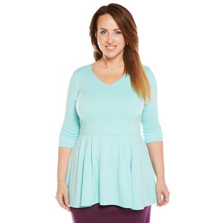 Купить Блуза Матекс «Николь». Цвет: ментоловый