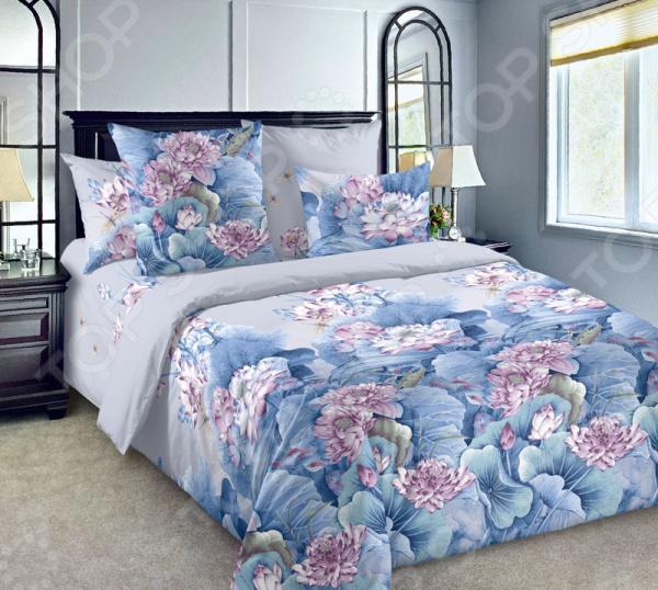 Комплект постельного белья ТексДизайн «Лотосы 1»