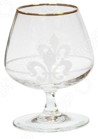 Набор бокалов для бренди Гусь Хрустальный «Королевская лилия» набор бокалов для бренди гусь хрустальный нежность 410 мл 6 шт