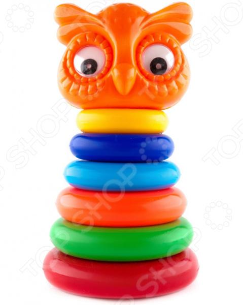 Игрушка-пирамидка Пластмастер «Совенок»