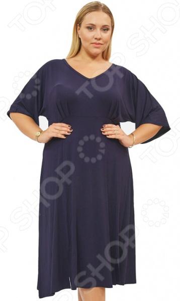 Платье Матекс «Нежная радость». Цвет: синий платье матекс счастливая женщина цвет синий