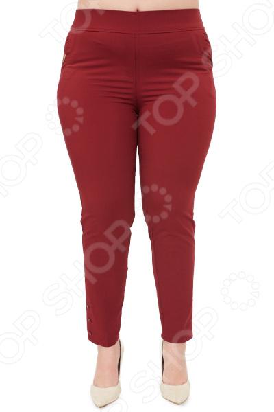 Брюки Blagof «Габриэлла». Цвет: бордовый брюки blagof брюки зауженные