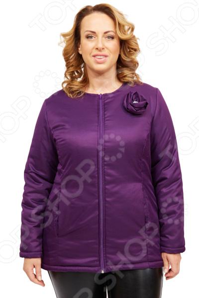 Куртка СВМ-ПРИНТ «Тонкий вкус». Цвет: фиолетовый свм принт марьяна цвет оливковый