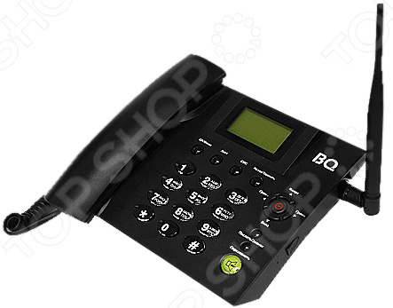 Телефон мобильный BQ «Домашний» домашний телефон с двумя трубками