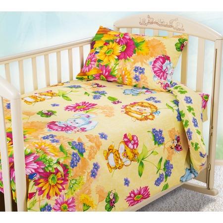 Купить Ясельный комплект постельного белья Бамбино «Летнее утро»