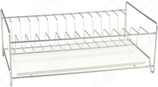 Сушилка для посуды Rosenberg RUS-285005 полка для ванны угловая rosenberg 7557