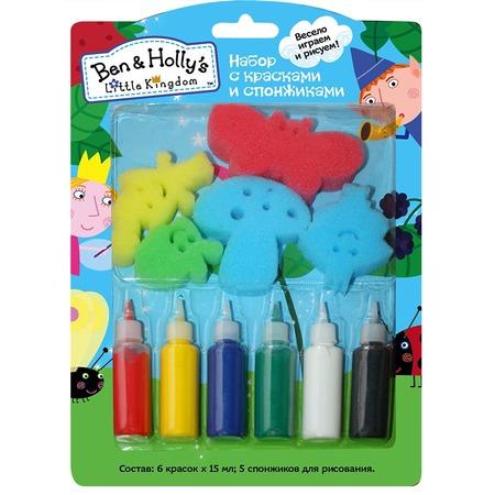 Набор красок со спонжиками Ben & Holly's 32244