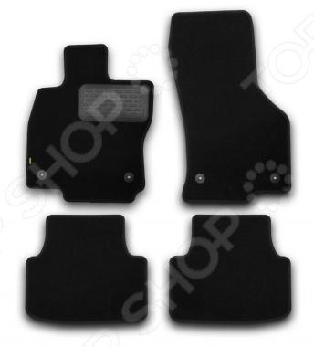 Комплект ковриков в салон автомобиля Klever Skoda Octavia 2013 Standard