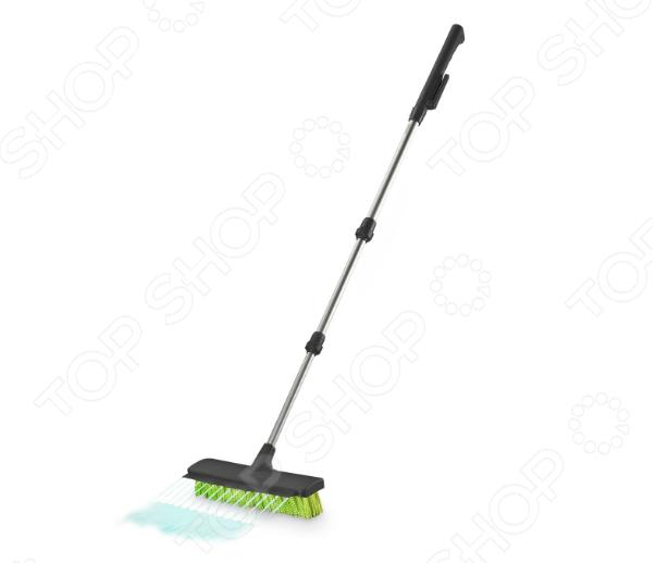 Уличная щетка Rovus с распылителем «Чистый двор» 4
