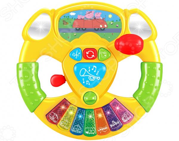 Музыкальная игрушка Peppa Pig «Руль»