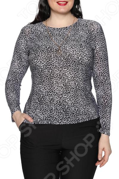 Блуза Blagof «Женщина-загадка». Цвет: черный