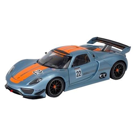 Модель автомобиля 1:24 Welly Porsche 918 RSR