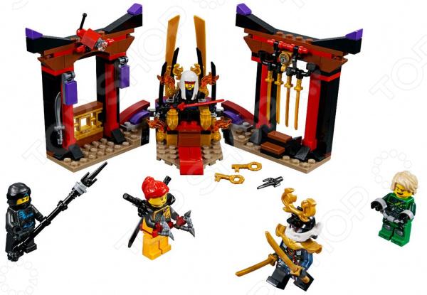 Конструктор игровой LEGO Ninjago «Решающий бой в тронном зале»