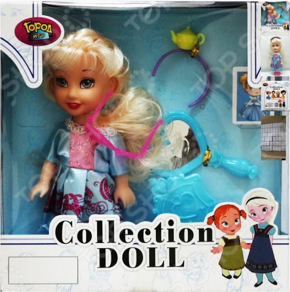 Кукла с аксессуарами Город игр «Виктория»