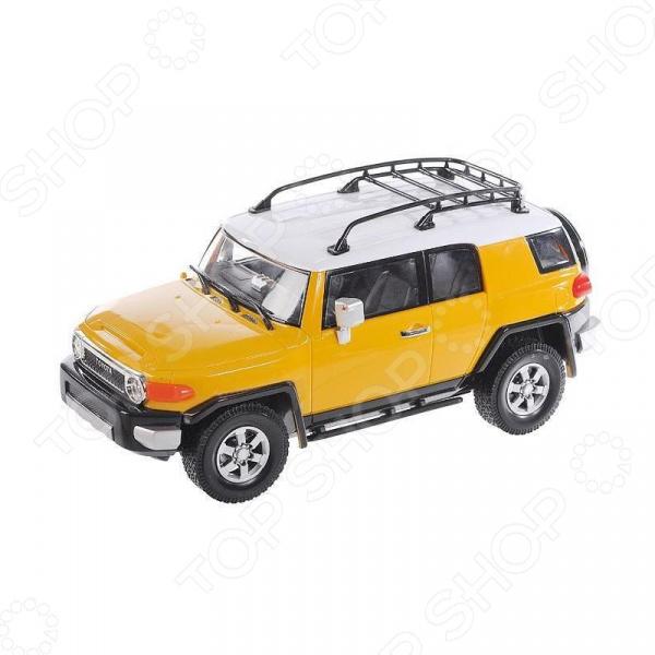 Автомобиль на радиоуправлении 1:16 KidzTech Toyota FJ Cruiser автомобиль на радиоуправлении kidztech bugatti 16 4 grand sport