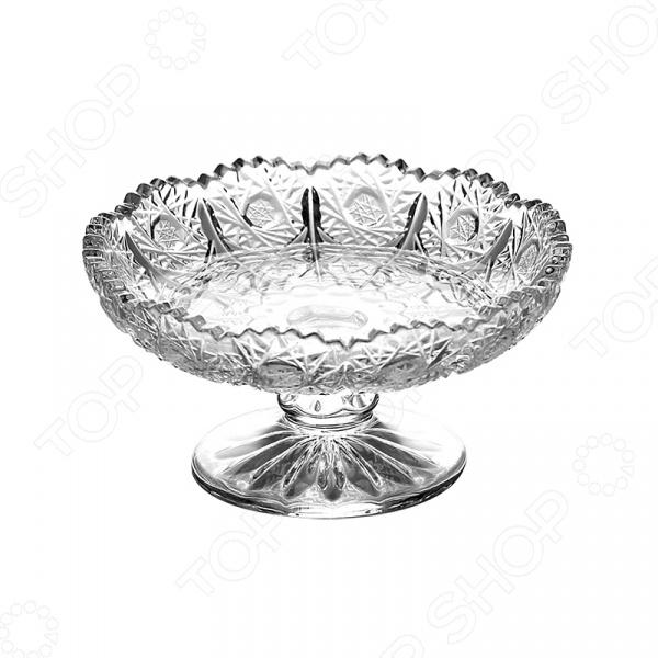 Ваза для фруктов Коралл «Хрустальное солнце» GB1706XTY