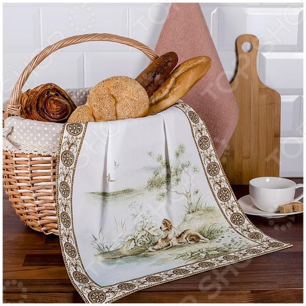 Комплект из 2-х полотенец Santalino «Охота» 850-705-63 полотенца santalino полотенце shulamite 40х70 см