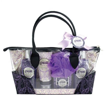 Купить Косметический набор для ванны Laura Amatti «Масло лаванды»: 5 шт.