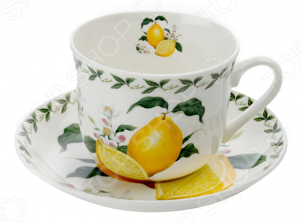 Чайная пара Maxwell&Williams «Лимон»