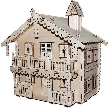 Купить Домик сборный для куклы PAREMO «Русский дом»