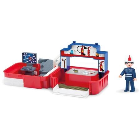 Купить Игровой набор EFKO «Пожарная станция» с фигуркой