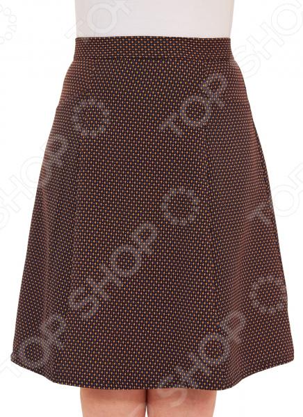 Юбка Элеганс «Дарьяна». Цвет: коричневый