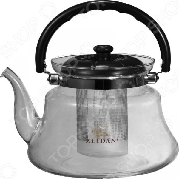 Чайник заварочный Zeidan High Quality. Материал ручки: бакелит ladies high quality handbags 100