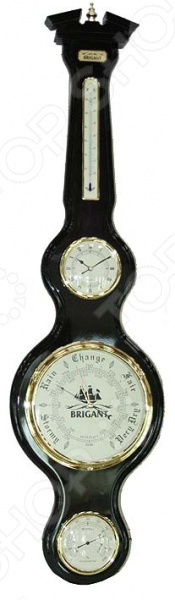 Часы-метеостанция настенные Brigant 28148