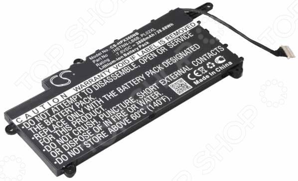 Аккумулятор для ноутбука Pitatel BT-1427 внешний аккумулятор asus zenpower abtu005 10050mah gold
