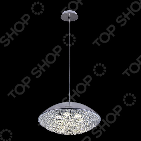 Люстра подвесная Natali Kovaltseva 11304/6P CHROME, G9 LED risoli литая сковорода гриль saporella 26x26 см psd000090 26t00 risoli