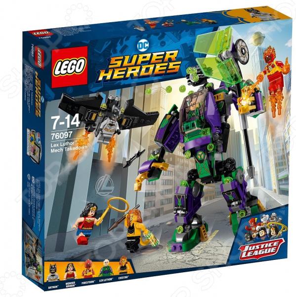 Конструктор игровой LEGO Super Heroes «Сражение с роботом Лекса Лютора» lego education 9689 простые механизмы