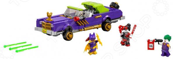 Конструктор-игрушка LEGO The Batman Movie «Лоурайдер Джокера» lego 70900 batman movie побег джокера на воздушном шаре