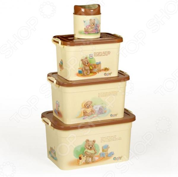 Набор контейнеров для хранения Полимербыт SGHPBKP105 Polly