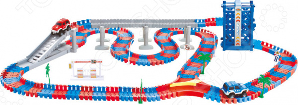 Zakazat.ru: Конструктор - гоночный трек 1 Toy «Мегаполис»: 258 деталей