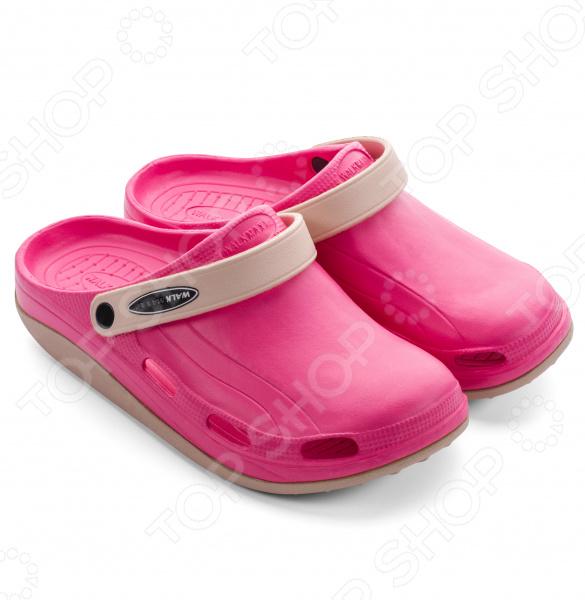 Клоги Walkmaxx Fit 3.0. Цвет: розовый