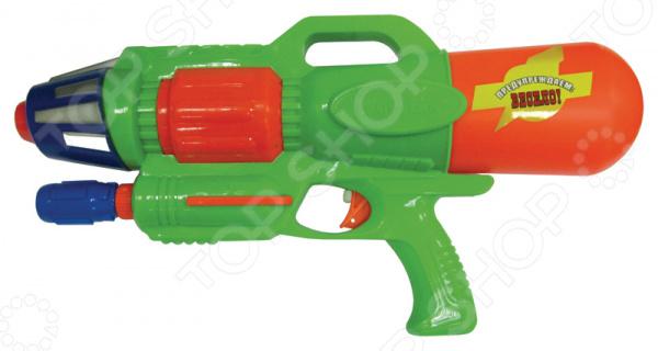 Пистолет водный Тилибом с помпой водный пистолет тилибом с 2 отверстиями 30 см