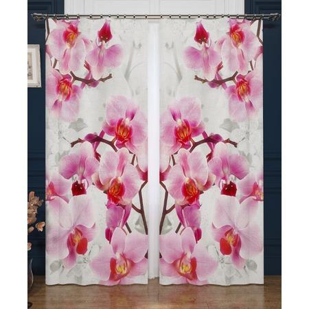 Купить Фотошторы Сирень «Ветви орхидеи»