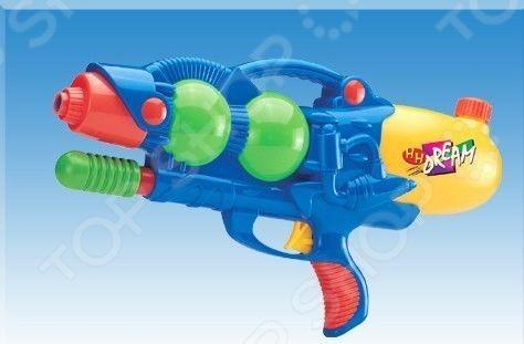 Пистолет водный 1719292 водный пистолет тилибом с помпой 45см красный для мальчика
