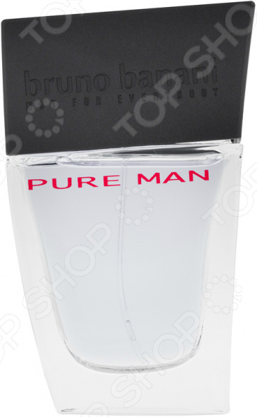 Туалетная вода для мужчин Bruno Banani Pure Man, 30 мл туалетная вода 30 мл bruno banani туалетная вода 30 мл