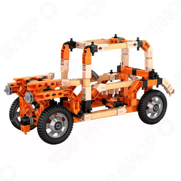 Конструктор-игрушка Engino Eco Builds «Внедорожники» элементы крепежа
