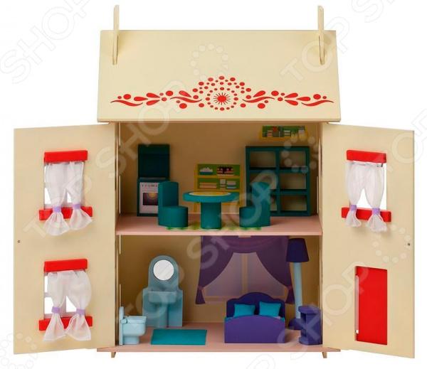 Кукольный дом с аксессуарами PAREMO «София»