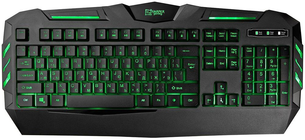 Клавиатура игровая Harper GKB-15