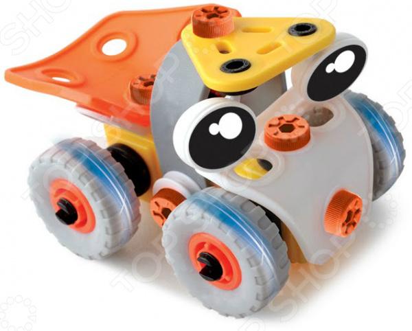 Конструктор-игрушка Юный Механик Гонки 2 в 1 SUT-1005 предназначен для таких маленьких, но уже таких любознательных малышей. Внутри яркой упаковки находится набор из 46 деталей. Следуя подробной инструкции и собрав все части воедино, у ребенка получится одна из двух моделей гоночных машинок. Кроме того, из одних и тех же деталей юный механик может собрать абсолютно любой другой вид транспорта для этого достаточно лишь следовать за воображением. В комплекте также можно найти все необходимые для сборки инструменты. Конструктор-игрушка Юный Механик Гонки 2 в 1 SUT-1005 способствует развитию зрительной координации, воображения, пространственного мышления, умения использовать форму предмета, а также мелкой моторики рук малыша. Кроме того, тренируется наблюдательность, образное восприятие и логическое мышление.