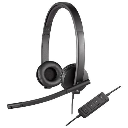 Купить Гарнитура Logitech Headset H570e STEREO USB